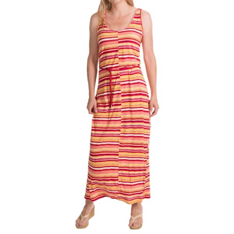 Woolrich Elemental Print Maxi Dress - Sleeveless (For Women)