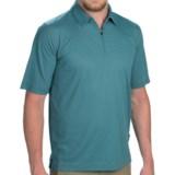 Woolrich Bowline Polo Shirt - Zip Neck, Short Sleeve (For Men)
