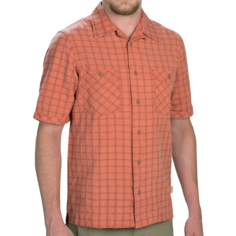 Woolrich Traction Shirt - Short Sleeve (For Men)