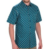 Woolrich Off Road Printed Shirt - Short Sleeve (For Men)