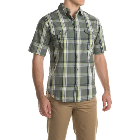 Woolrich Midway Yarn-Dye Shirt - Short Sleeve (For Men)