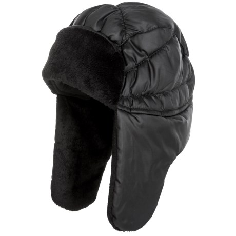 Jacob Ash Igloos Puffer Trapper Hat - Insulated, Fleece Lining (For Women)
