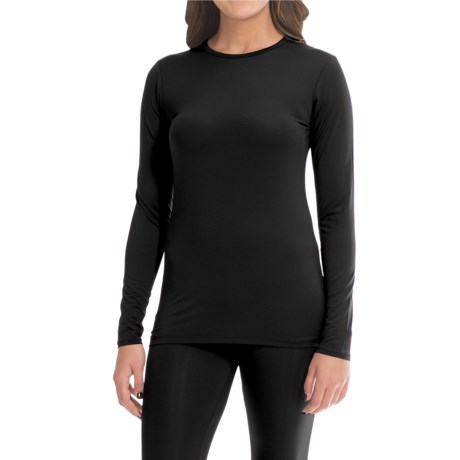 Cuddl Duds Stretch Microfiber Top - Long Sleeve (For Women)