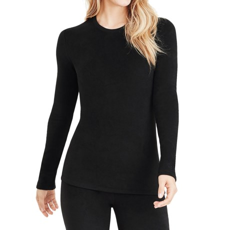 Cuddl Duds Stretch Fleece Top - Long Sleeve (For Women)