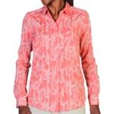 ExOfficio Next-to-Nothing Chiffon Shirt - Button Up, Long Sleeve (For Women)