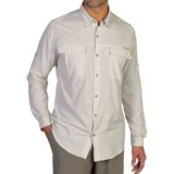 ExOfficio BugsAway® Halo Check Shirt - UPF 30+, Long Sleeve (For Men)