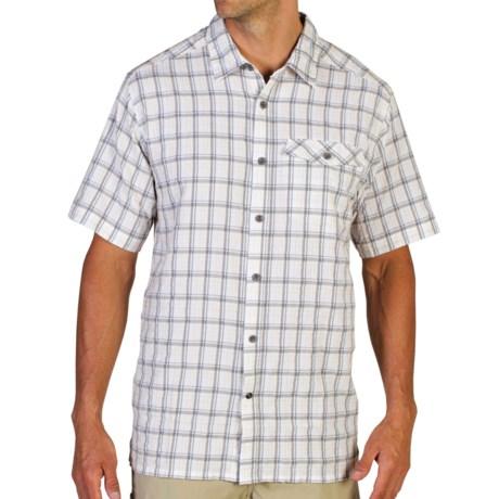 ExOfficio Quadrant Plaid Shirt - UPF 20+, Short Sleeve (For Men)