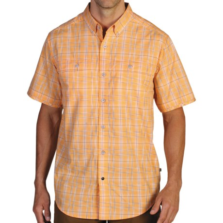 ExOfficio Contour'd Plaid Shirt - UPF 20+, Button Front, Short Sleeve (For Men)