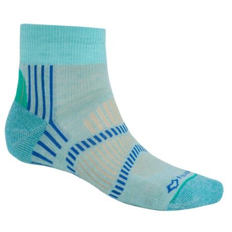Fox River Light Socks - PrimaLoft®-Merino Wool, Quarter Crew (For Men and Women)