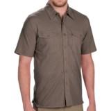 Royal Robbins Breeze Thru Button Front Shirt - Cotton-Linen, Short Sleeve (For Men)