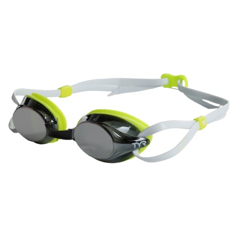 TYR Metallized Racing Goggles (For Men and Women)