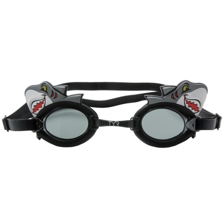 TYR Charactyr Happy Shark Goggles (For Little and Big Kids)