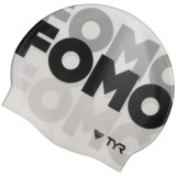 TYR FOMO Swim Cap (For Men and Women)