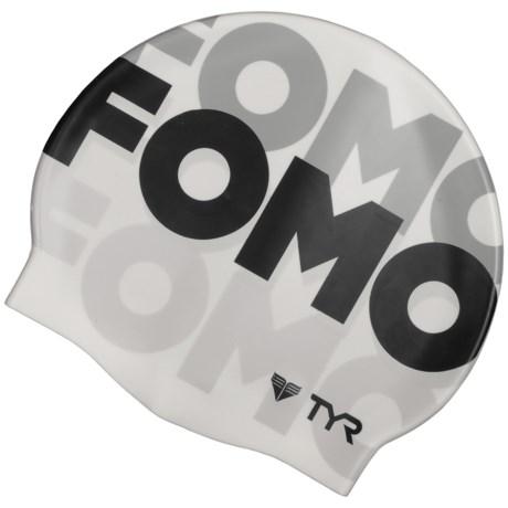 TYR FOMO Swim Cap (For Men and Women)