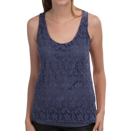 Lace-Front Tank Top (For Women)