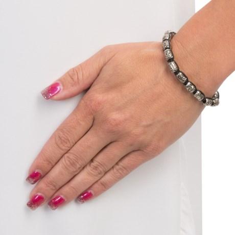 Wakami Rad Metal Bead Bracelet (For Women)