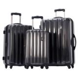 Olympia Titan Hardside Spinner Luggage Set - 3-Piece