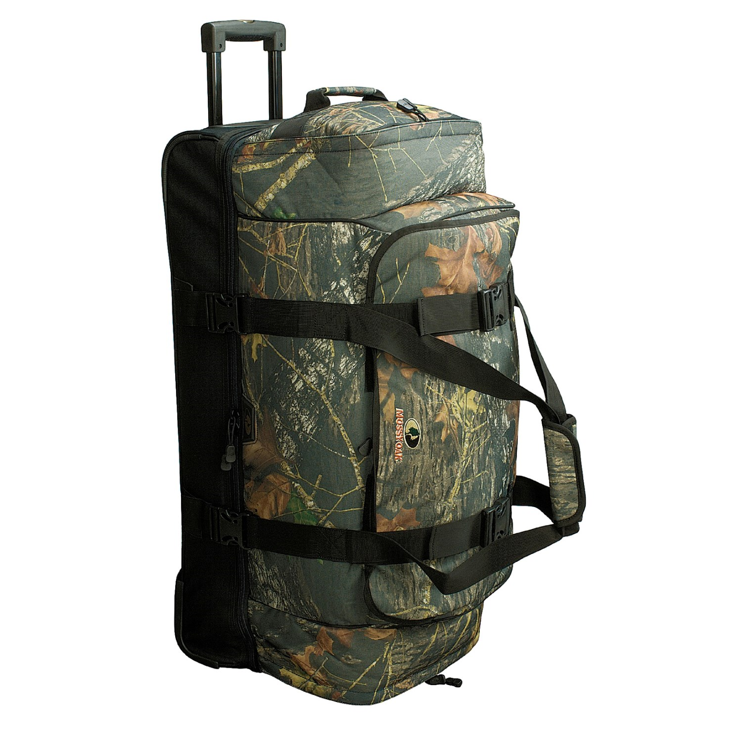 65aa56999810 High Sierra Sports Mossy Oak® Wheeled Duffel Bag with Drop Bottom 32
