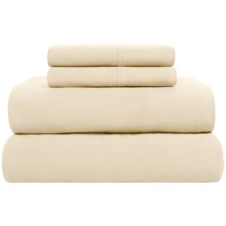 Loric Homestyles Jersey Knit Sheet Set - Queen, Pima Cotton