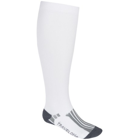 Travelon Compression Travel Socks - Over-the-Calf (For Men and Women)