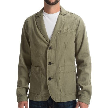 Timberland Mount Mansfield Blazer - Cotton-Linen (For Men)