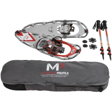 Yukon Charlie's Mountain Profile Snowshoes Kit - 930