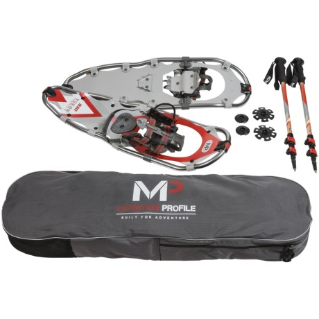 Yukon Charlie's Mountain Profile Snowshoes Kit - 930
