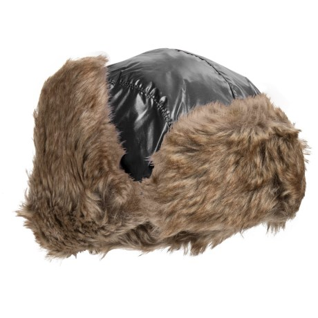 Jacob Ash Igloos Shiny Aviator Hat - Ear Flaps, Faux-Fur Lining (For Big Kids)