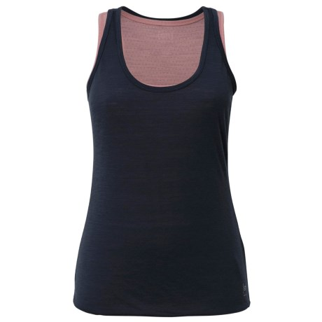 super.natural Double-Layer Tank Top - Merino Wool, Fully Lined (For Women)