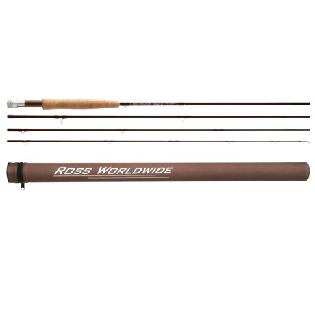 "Ross Reels Essence FC 4 Thru Fly Fishing Rod - 7'6"", 6wt, 4-Piece"