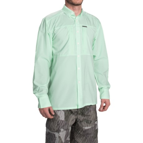 Simms Ultralight Shirt - UPF 30+, Button Front, Long Sleeve (For Men)