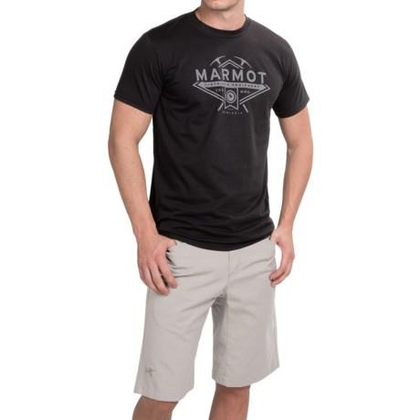 Marmot Ice Axe T-Shirt - Organic Cotton, Short Sleeve (For Men)