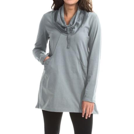 Neon Buddha Stretch Jersey Fanciful Slub Tunic Shirt - Long Sleeve (For Women)
