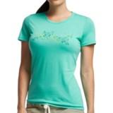 Icebreaker Tech Lite T-Shirt - UPF 20+, Merino Wool, Short Sleeve (For Women)