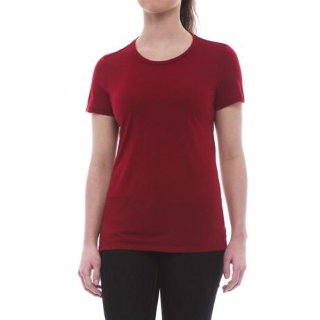 Icebreaker Tech Lite Crewe T-Shirt - UPF 20+, Merino Wool (For Women)