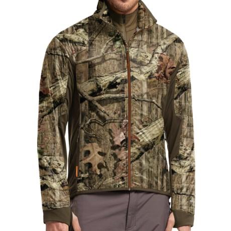 Icebreaker Helix Mossy Oak® Shirt - Merino Wool, Full Zip, Long Sleeve  (For Men)