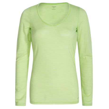 Icebreaker Siren Stripe Sweetheart Shirt - Merino Wool, Long Sleeve (For Women)