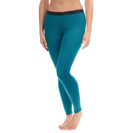 Icebreaker Everyday Base Layer Bottoms - UPF 20+, Merino Wool (For Women)