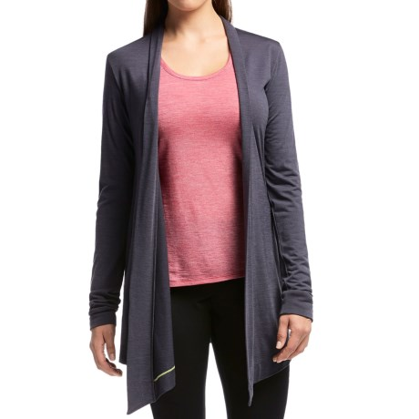 Icebreaker Sphere Wrap Cardigan Sweater - UPF 30+, Merino Wool (For Women)