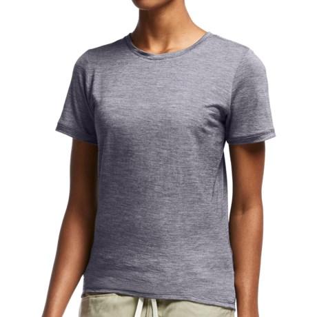 Icebreaker Cool-Lite Sphere Stripe Shirt - UPF 30+, Merino Wool, Short Sleeve (For Women)