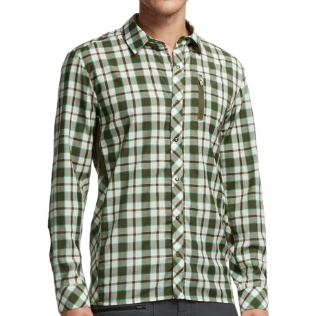 Icebreaker Compass II Plaid Shirt - Merino Wool, UPF 20+, Long Sleeve (For Men)