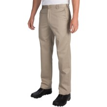 IZOD American Chino Pants - Wrinkle-Free, Slim Fit (For Men) in Khaki - Closeouts