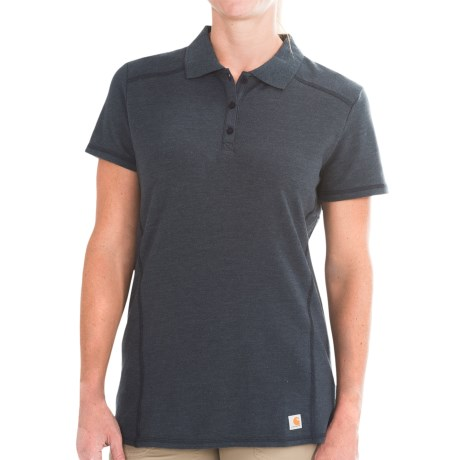 Carhartt Force Verdon Polo Shirt - Short Sleeve (For Women)
