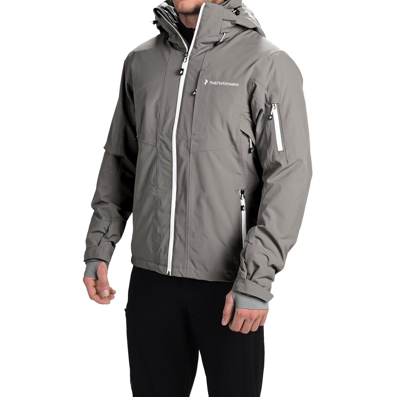 peak performance maroon ski jacket for men 9691c save 36. Black Bedroom Furniture Sets. Home Design Ideas