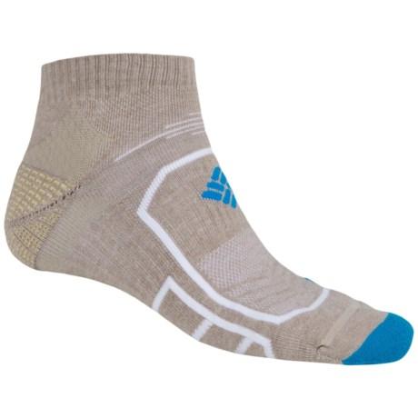 Columbia Sportswear Trail Running Socks - Lightweight, Ankle (For Men)