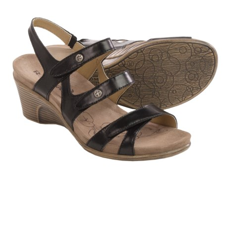 Romika Bali N 07 Sandals - Leather, Wedge Heel (For Women)