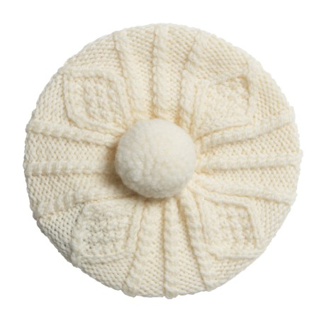 Carraig Donn Handknit Beret-Style Hat - Merino Wool (For Little Kids)