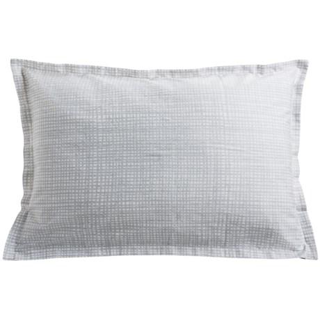 Barbara Barry Interlace Reversible Sateen Pillow Sham - Queen