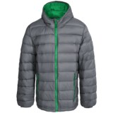 Weatherproof Packable Down Hooded Jacket (For Little and Big Boys)