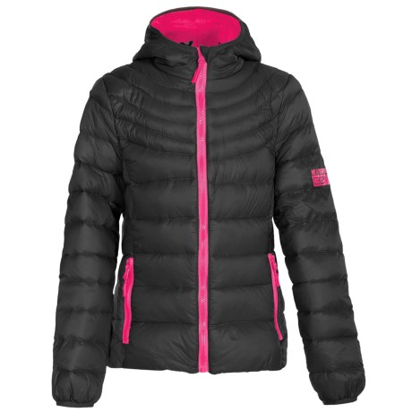Weatherproof Packable Down Jacket (For Big Girls)